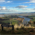 Tay Valley from Kinnoul Hill, Perth