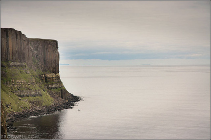 Kilt Rock with the Isle of Lewis and Eye Peninsula just visible in the background.
