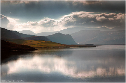 Loch Eriboll from the East Bank.