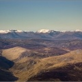 Cairngorms from the air