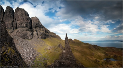 Needle Rock and the Storr