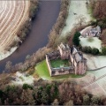 Doune Castle from the air