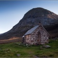 Corrour Bothy and the Devils Point
