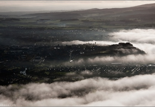 Aerial photo of Stirling Castle