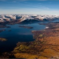 Loch Lomond from the air