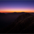 Before dawn on Sgurr Fhuaran