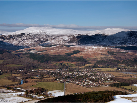 Comrie from the air