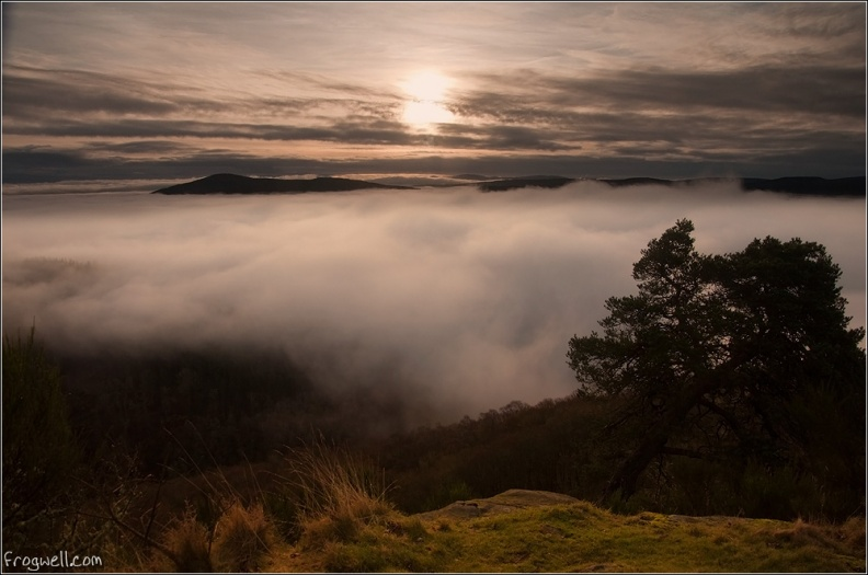 Cloud inversion over Comrie from Lord Melvilles Monument.jpg