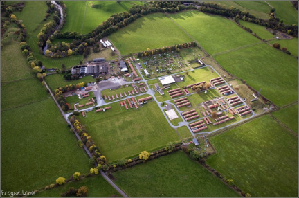 Cultybraggan camp from the air
